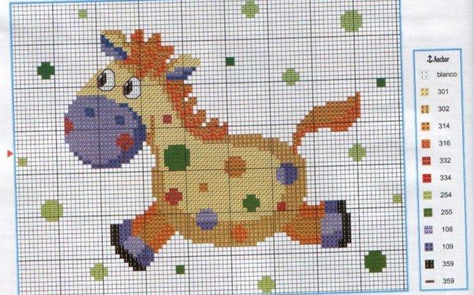 Детские схемы-рисунки для вязания спицами (подборка идей