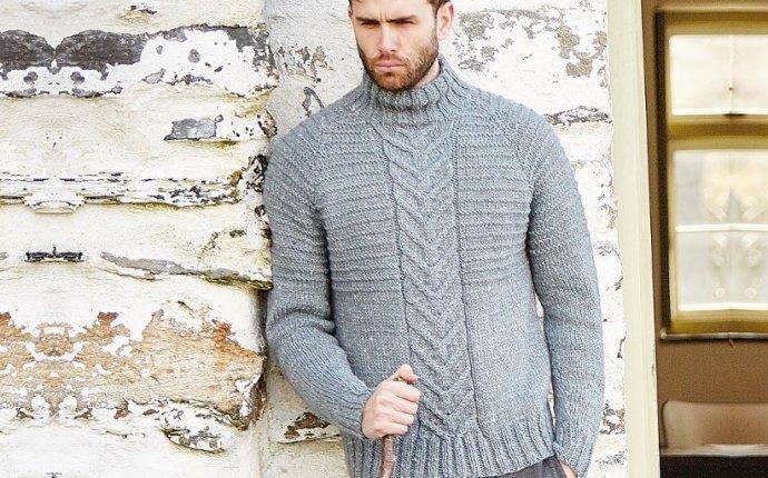 мужской свитер спицами - Самое интересное в блогах
