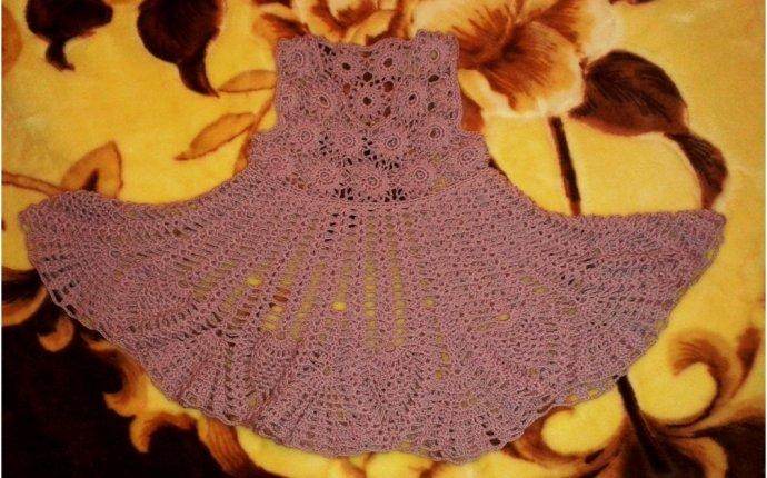 платья, сарафаны | Вязание крючком, схемы вязания, бесплатное
