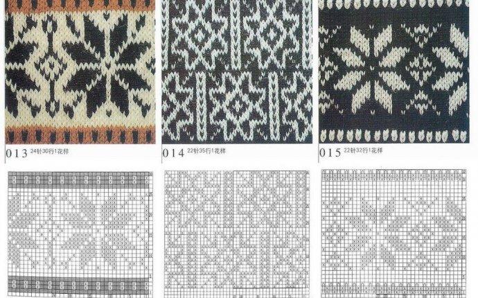Скандинавские узоры для вязания спицами | ХорошоДома
