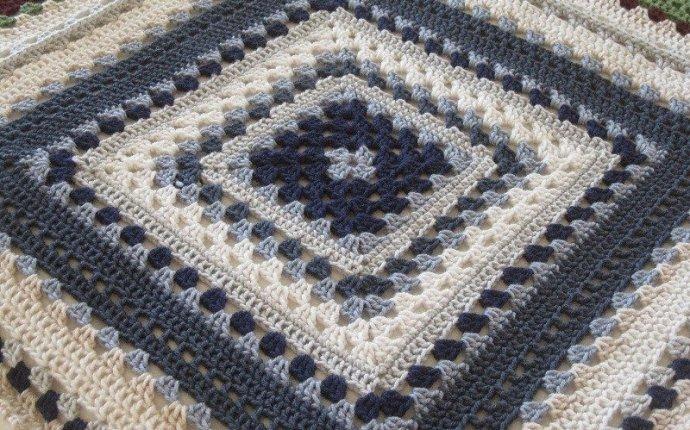 Сказочный ДОМИК: Схемы вязания Бабушкиного квадрата