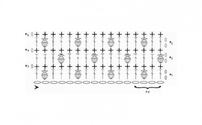 Учимся читать схемы для вязания крючком - Мамины ручки