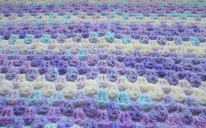 Вязание детского пледа крючком.Просто и красиво! How to crochet a